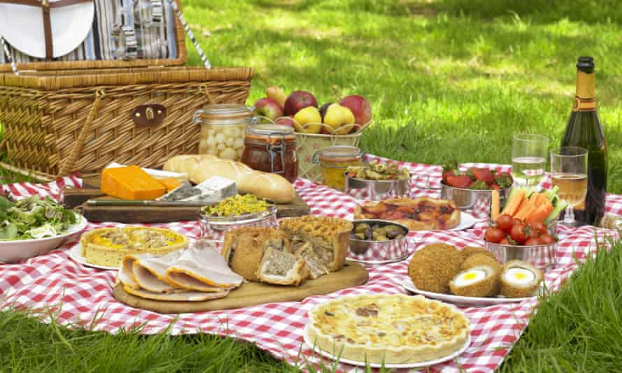 It is well known that food tastes better in the open air.