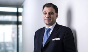 Cobra Beer Founder And Chairman Karan Bilimoria<br>Karan Bilimoria, founder and chairman of Cobra Beer Ltd., poses for a photograph following a Bloomberg Television interview in London, U.K., on Monday, Nov. 24, 2014. U.K. stocks rose, following five weeks of gains, as London Stock Exchange Group Plc's advance outweighed Petrofac Ltd.'s plunge. Photographer: Jason Alden/Bloomberg via Getty Images