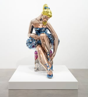 Coming to Oxford … Seated Ballerina, a new work by Koons that will be in the Ashmolean show.