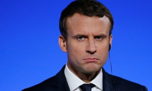 Emmanuel Macron ... the French disconnection.