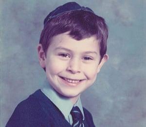 Josh Spero in his early school days.