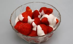 Summer's best match: pair strawberries and cream with a sherbety moscato.