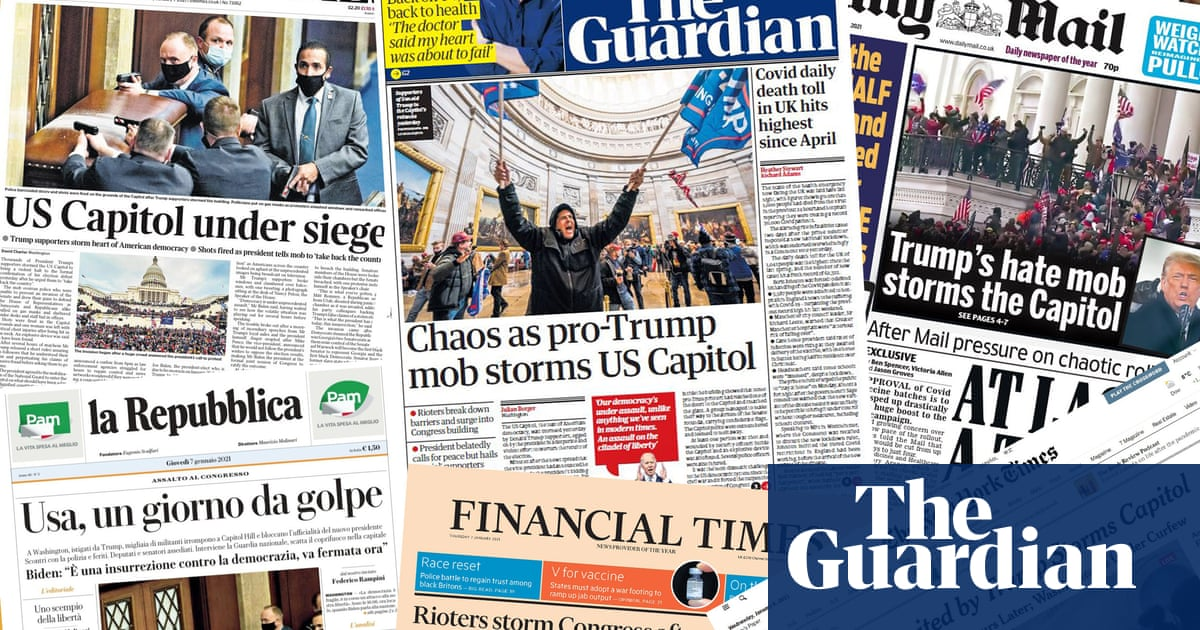 Anarchy in the USA: what the papers say about the storming of the US Capitol