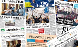 selection of front pages
