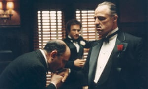 All in the direction … Marlon Brando in The Godfather.