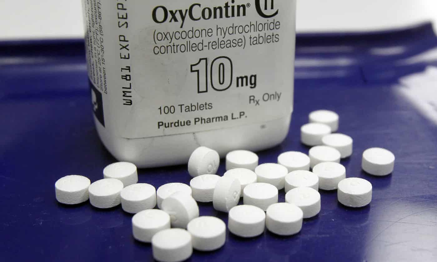 Drug makers flooded US with billions of opioid pills as epidemic surged, data shows