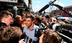 Beto O'Rourke, spending big on the campaign trail.