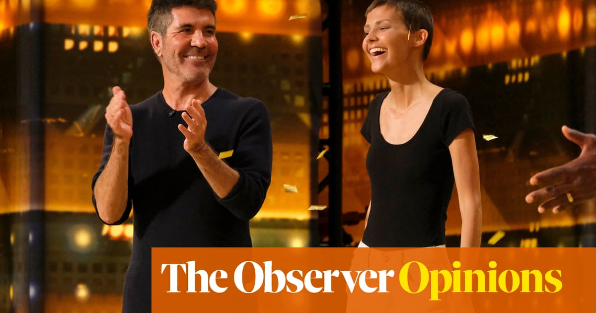 Pop maestro Simon Cowell finally bows to the public's resounding 'no' vote