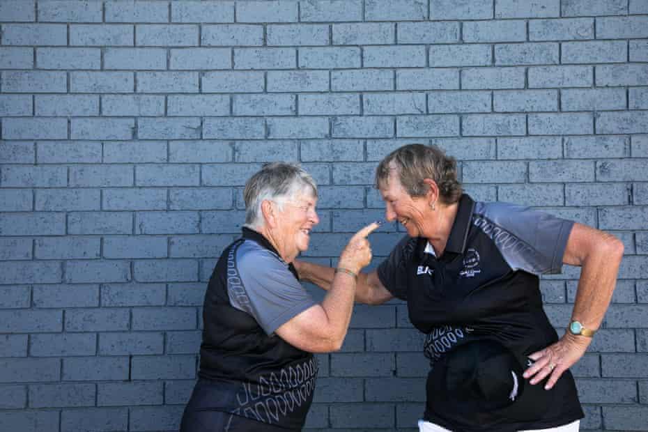 Ann Muir and Sue Curran.