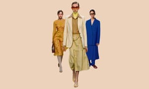 Layered looks on the catwalk from (l-r) Fendi, Victoria Beckham and Joseph.
