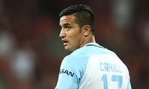 Tim Cahill thought he'd scored the winner for Melbourne City against Western Sydney, but the Wanderers escaped with an A-League point after an own goal from Neil Kilkenny.