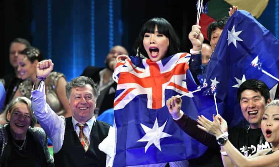 Australian Eurovision contestant Dami Im