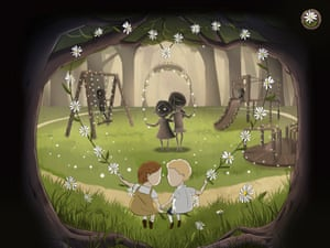 A scene from short animated film Daisy Chain