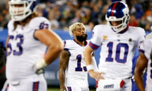 Odell Beckham and the Giants contemplate another defeat