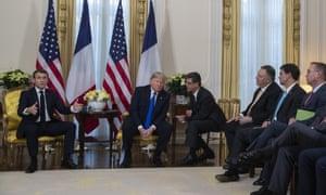 Interpreter with Donald Trump