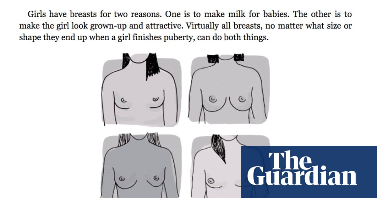 Publisher pulps boys' guide to puberty over explanation of breasts | Books  | The Guardian
