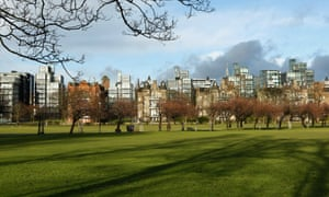'What a stupid, magical, wonderful place Edinburgh is' ... The Meadows.