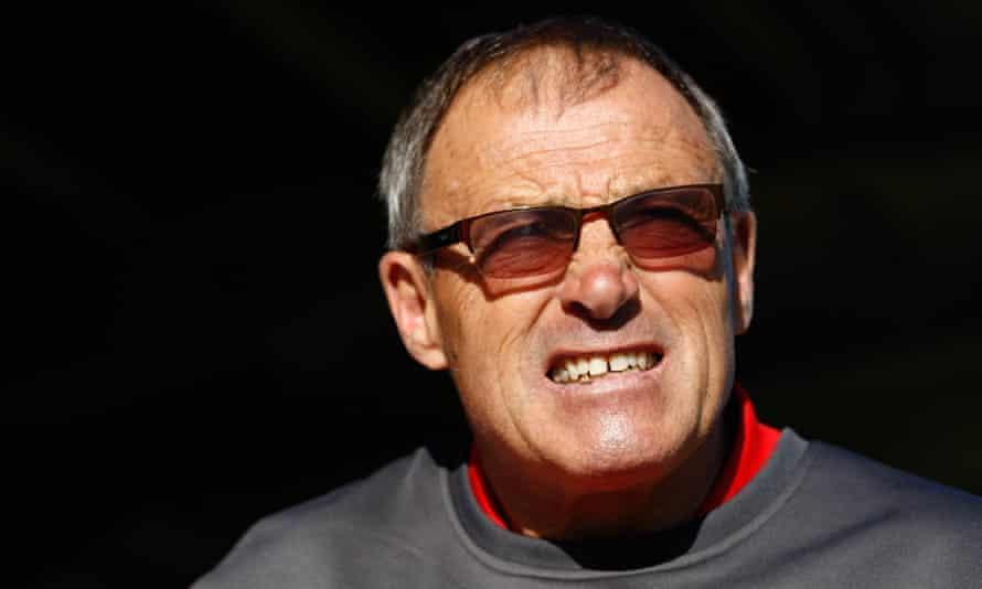 The former Crewe manager Dario Gradi