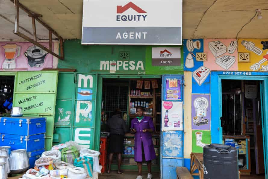 A local Equity Bank agent