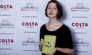 Sally Rooney at the Costa Book Awards in London, January 2019