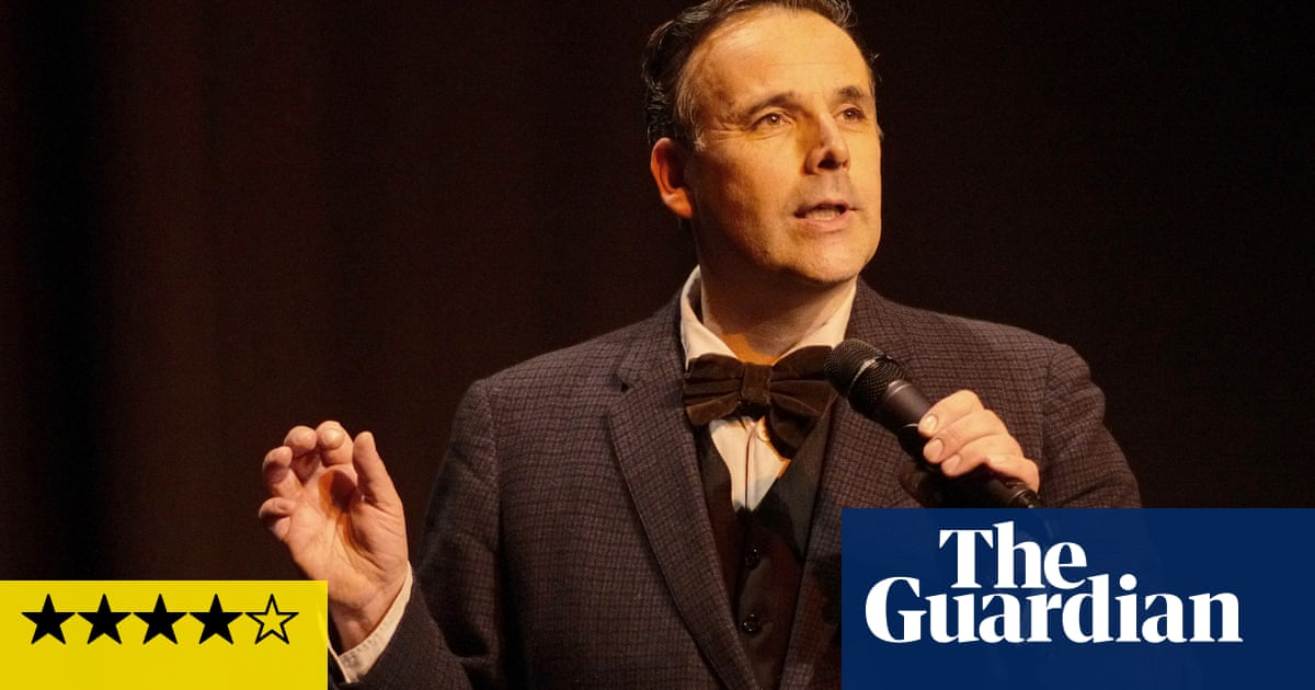 Rob Newman's Philosophy Show review – a treat for the mind and funny bone