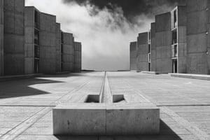 Salk Institute, La Jolla, California, USA, 1965 by Louis Kahn