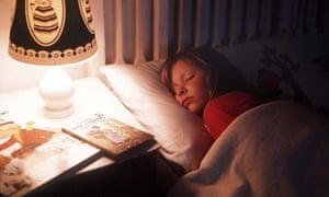 A child sleeping