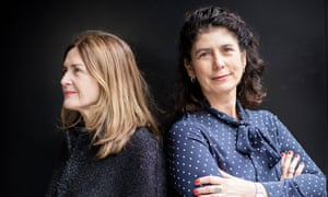 Finola Dwyer (left) and Amanda Posey, producers of Brooklyn which is Oscar-nominated.