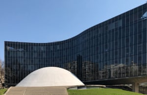 Oscar Niemeyer communist building