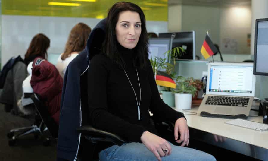 Busuu employee Christiane Bark.