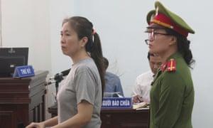 Nguyen Ngoc Nhu Quynh in dock