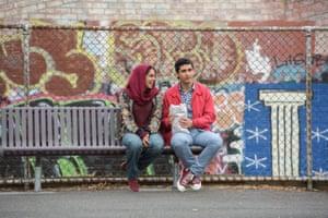 Helana Sawires and Osamah Sami in Ali's Wedding, adapted from Sami's memoir, Good Muslim Boy.