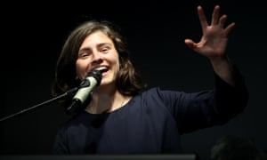 Green party candidate for Auckland Chloe Swarbrick