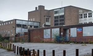 Baverstock Academy secondary school, Druids Heath, which closed in 2017.