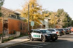 The Police station in Orinda, California.