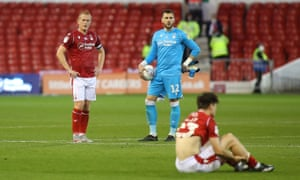 Despair for Nottingham Forest after they fail to make the play-offs