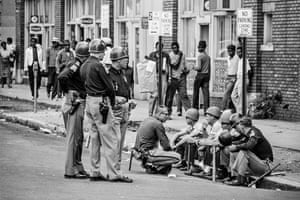 Law enforcement officers in Birmingham, Alabama