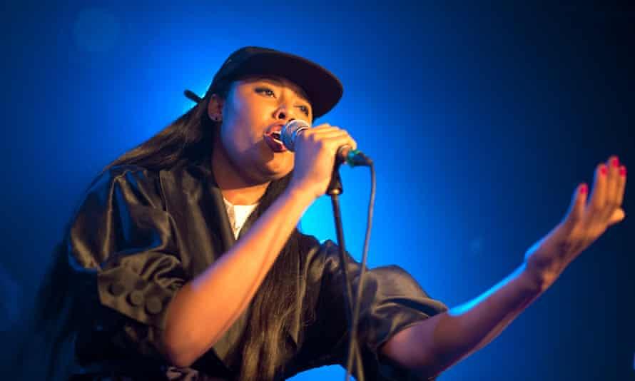 VV Brown performing in London in 2014.