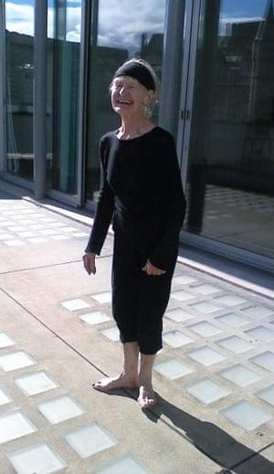 Diana Payne-Myers at Dance Base in Edinburgh