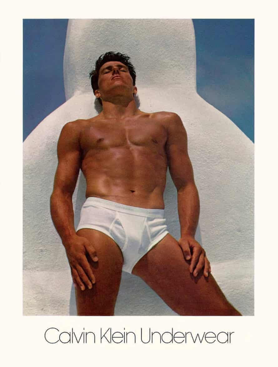 Tom Hintnaus from the Calvin Klein Advertising Archives.
