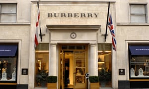 Burberry's New Bond Street store is thriving since the pound's post-Brexit plunge.