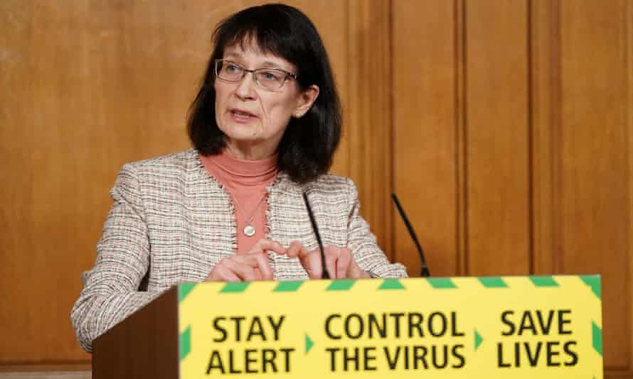 England's deputy chief medical officer Dr Jenny Harries. Only 19% of experts quoted in the most highly ranked coronavirus stories were women, said the report.