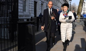 Labour's Chuka Umunna and the Tory MP Anna Soubry