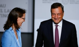 Mario Draghi in Lindau, Germany