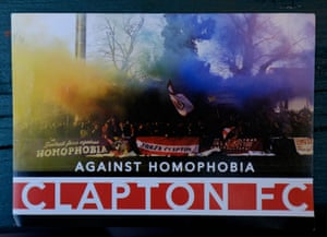 A Clapton Ultras sticker.