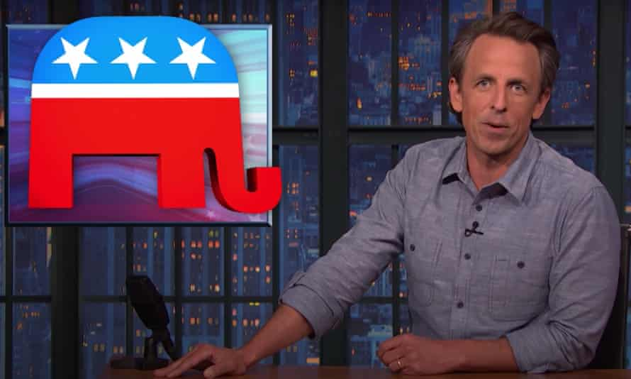 """Seth Meyers: """"Every day wasted on bipartisan talks that will inevitably go nowhere is a day that could've been spent passing much-needed legislation on everything from climate change to voting rights. That's Mitch McConnell's goal: to run out the clock."""""""