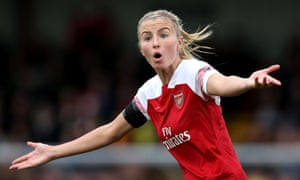 Leah Williamson says Arsenal had to 'dig deep' to overcome the injury problems to win the Women's Super League this season.