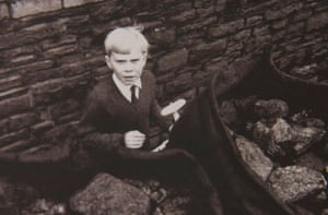 Jeff Edwards, aged eight, photographed a few days after being rescued in October 1966