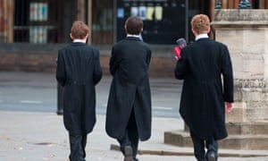 Schoolboys at Eton College in Berkshire