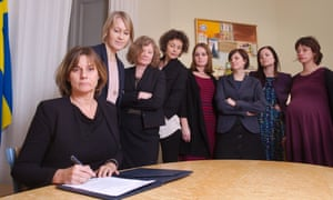 Sweden's climate minister Isabella Lövin